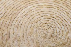 Close up of wickerwork / basketry use for texture background or wallpaper.  royalty free stock image