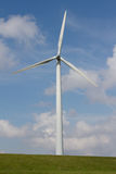 Close up of Wind turbine Stock Images
