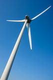Close up of a wind turbine Royalty Free Stock Images