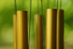 Close-up windchime, shallow focus Stock Photos