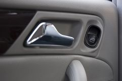 Close Up Window Control. On a Car Stock Images