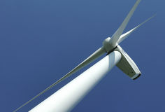 Close up of a windturbine Royalty Free Stock Images