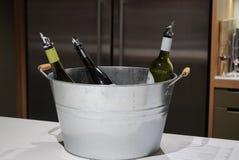 A bucket of Australian wine stock images