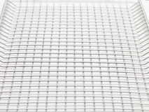 Close up of wire basket.  Stock Image