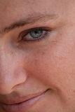 Close-up of woman Stock Photo