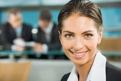 Close-up of woman Stock Photography