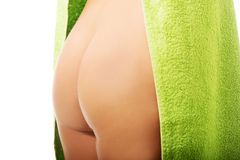 Close up on woman buttock Royalty Free Stock Photos