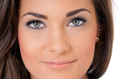 Close-up woman eyes Royalty Free Stock Photography