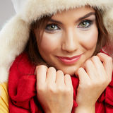 Close up Woman Face. Royalty Free Stock Photography
