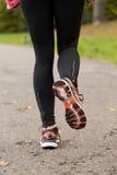 Close-up of woman jogging Stock Photos