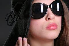 Close-up woman portrait Stock Photo