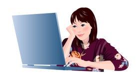 Close-up of woman Stock Photos