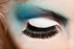 Close-up of womanish eye Stock Photo