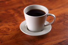 Close-up of a wonderful cup of hot coffee Royalty Free Stock Image