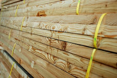 Close-up wood. A pile of close-up woods Royalty Free Stock Image
