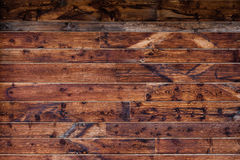 Close-up of wood panel wall with patterns Stock Photos