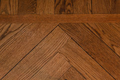 Close-up of a wood parquet Royalty Free Stock Image