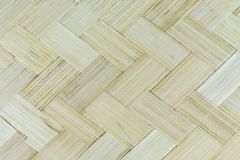 Close up wooden bamboo patern Royalty Free Stock Photos