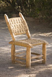 Close up of wooden chair Royalty Free Stock Photos