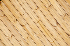 Close up of wooden fence panels Royalty Free Stock Image