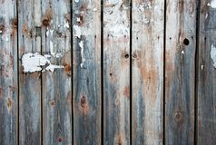Close up of wooden fence panels, a lot of place for text. Stock Images
