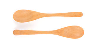 Close-up of wooden spoon Royalty Free Stock Photos
