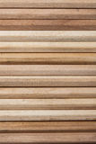 Close up of wooden stick put together as whole background. Royalty Free Stock Photos