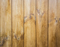 Close up of wooden wall background Stock Images