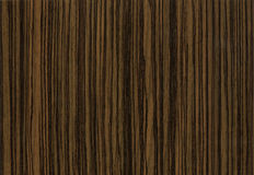 Close-up wooden Zebrano Negro texture Stock Photo