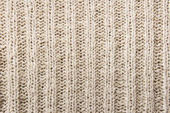 Close up of woolen knitted texture Stock Photography