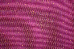 Close-up of a woolen pattern Royalty Free Stock Photography