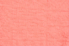 Close-up of a woolen pattern Royalty Free Stock Photos