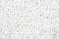Close-up of a woolen pattern Royalty Free Stock Images