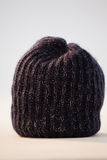 Close-up of wooly hat. Against white background Stock Photos