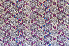 Close up woven rope texture, sacks doormat use for background Stock Image