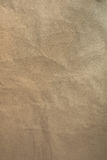 Close up of wrinkle brown bag texture Stock Photo