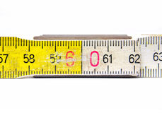 Close Up Yardstick Royalty Free Stock Photo
