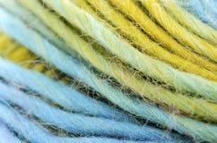 Close up Yarn stock photos