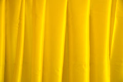 Close up Yellow corduroy fabric abstract texture background Royalty Free Stock Photography