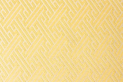 Close-up yellow fabric textile texture Stock Images