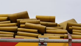 Fire Hoses Royalty Free Stock Images