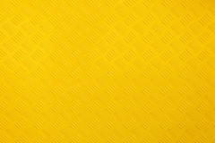 Close up yellow metal background and texture.  Stock Photo