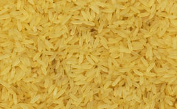 Close up of yellow rice. Royalty Free Stock Photography