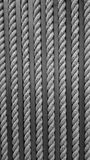 Close up yellow rough rope for texture Backgroud Stock Image