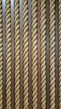 Close up yellow rough rope for texture Backgroud Royalty Free Stock Photo