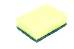 Close up yellow sponge Stock Photography