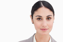 Close up of young businesswoman Stock Images