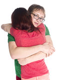 Close up Young Couple Embracing Each Other Royalty Free Stock Photography