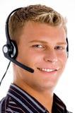 Close up of young customer executive Royalty Free Stock Image