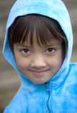 Close up of young girl. Royalty Free Stock Images